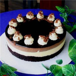 巧克力慕斯蛋糕卷