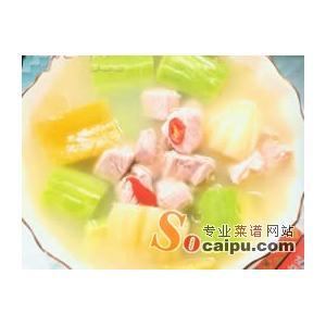 酸菜双瓜汤