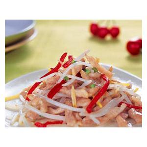 韭黄豆芽菜