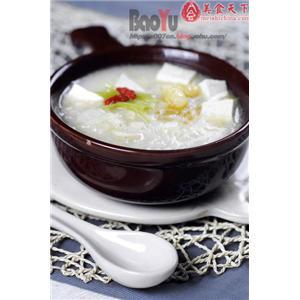 豆腐泡炒白菜