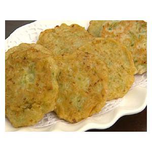 煎芹菜叶饼