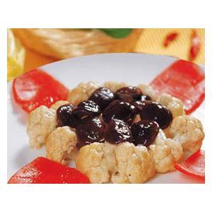 鲜菇炒菜花