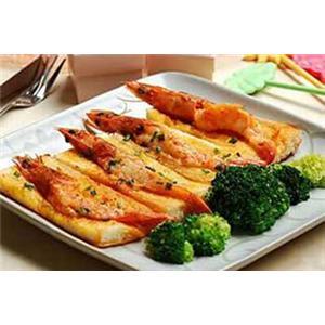青松虾仁面包