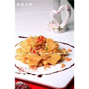虾米炝腐竹