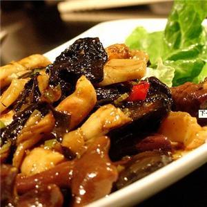 生菜包肉丸