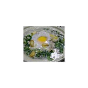 香花菜滚煎蛋汤