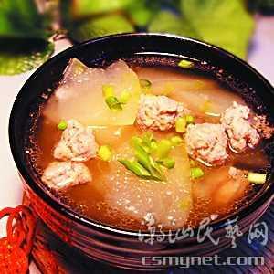 鲜荷杂锦冬瓜粒汤