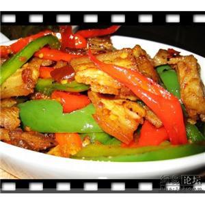 煎瓤青红椒