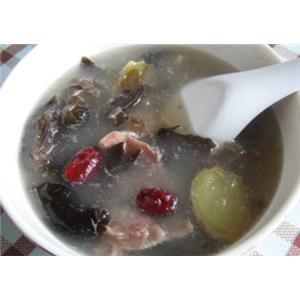 虾米冬瓜火腿鸭汤