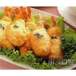 炸凤尾虾排