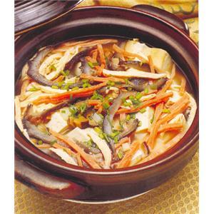 砂锅豆腐块