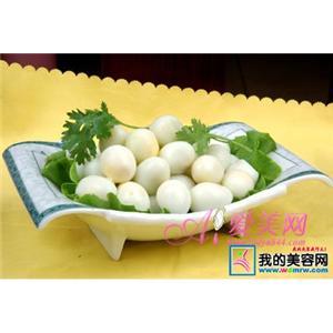 麻茸鹌鹑蛋