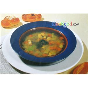鸡肉杂菜汤
