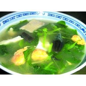 苋菜芙蓉蛋汤