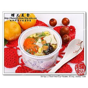 黄豆芽豆腐汤
