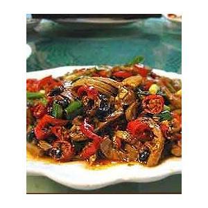 鱼香鹑脯片