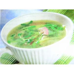 猪肝豌豆苗汤