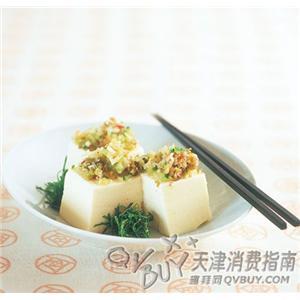 榨菜末拌豆腐