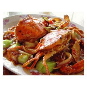 豉椒炒海蟹