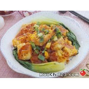 鲜菇烧豆腐