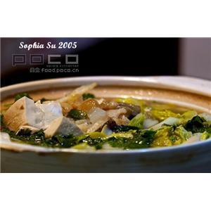 砂锅鱼块汤