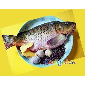 赤小豆焖鲤鱼
