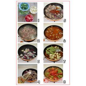番茄羊肉蛋花汤