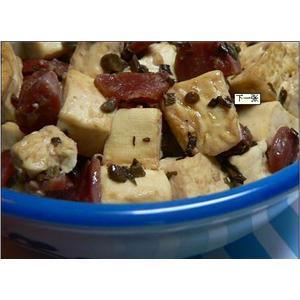 炸香椿豆腐