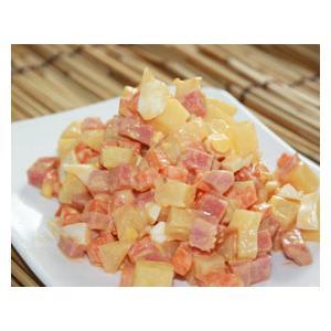 蛋丁蔬菜沙拉
