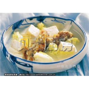 红花生姜豆腐汤
