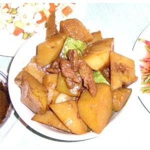 土豆炖倭瓜