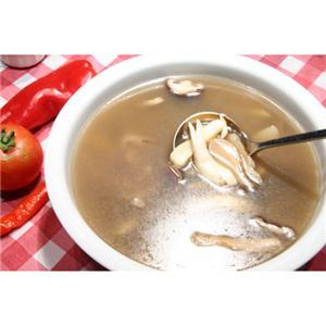 鲜菇肉片汤