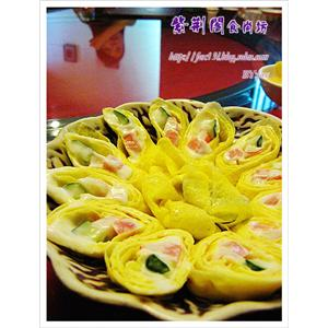 蛋皮芦荟沙律卷
