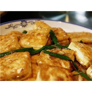 豆腐干烹掐菜
