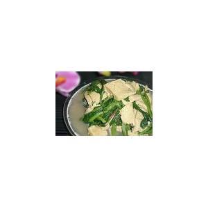 菠菜炒豆腐