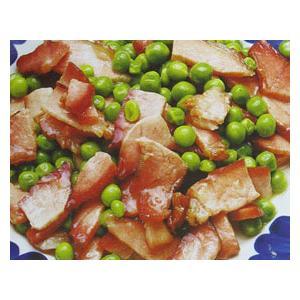 豌豆炒腊肉