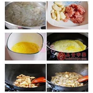 咸菜炒粉皮