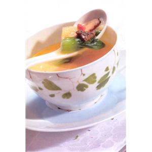 青豆菌菇汤