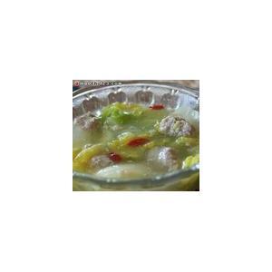 羊肉丸子汤(二)