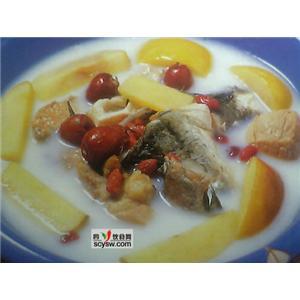 糯米炖鲤鱼
