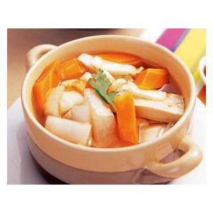 豆腐烧胡萝卜