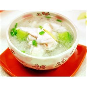 烩丝瓜鱼片