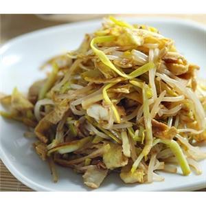 韭黄炒掐菜