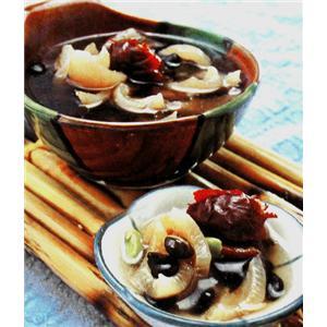 红枣羊骨糯米粥