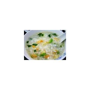 虾仁韭菜粥