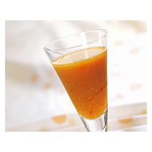胡萝卜苹果醋蛋饮