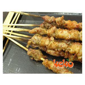 烤麂子肉串