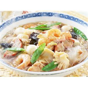 豌豆苗豆腐汤