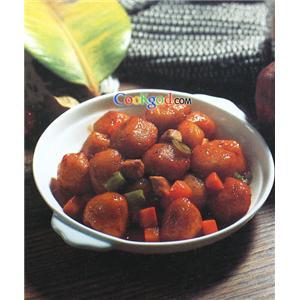 冰花土豆丸子