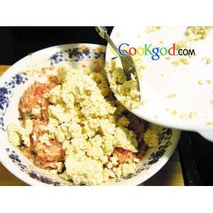 香酥豆腐饼